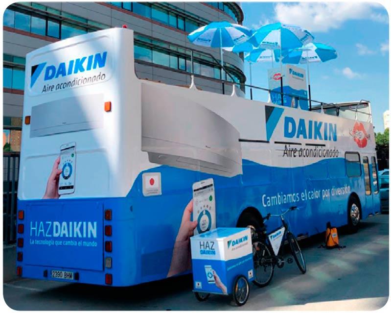 Daikin en las playas