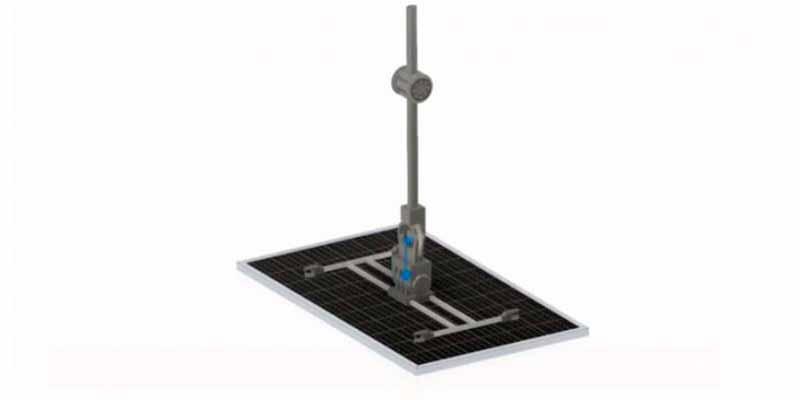 Proyecto para instalar paneles solares con un brazo robótico