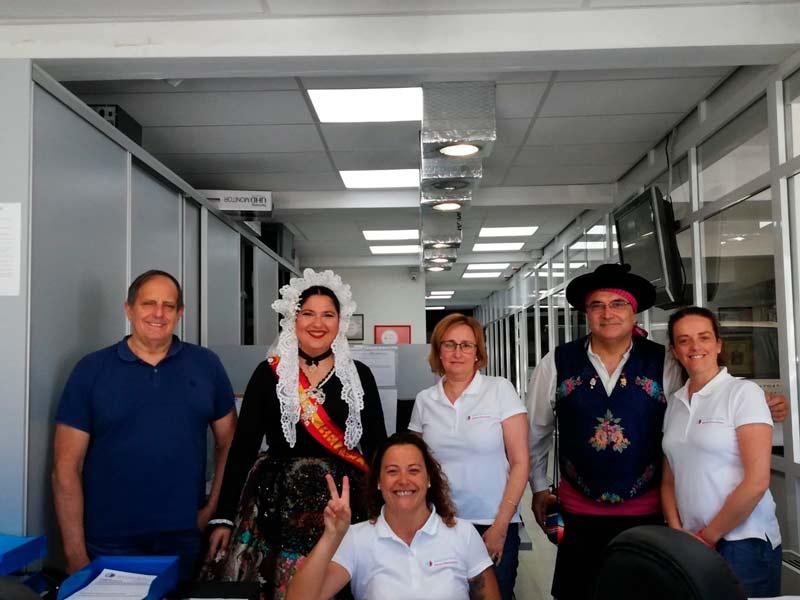 Visita hoguera Alacant golf