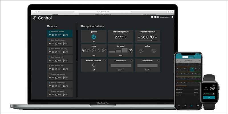 IoT IntesisHome: solución para control remoto de aire acondicionado y bombas de calor