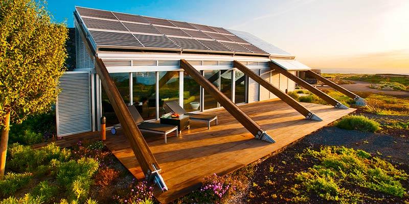 Las casas bioclimáticas y las renovables