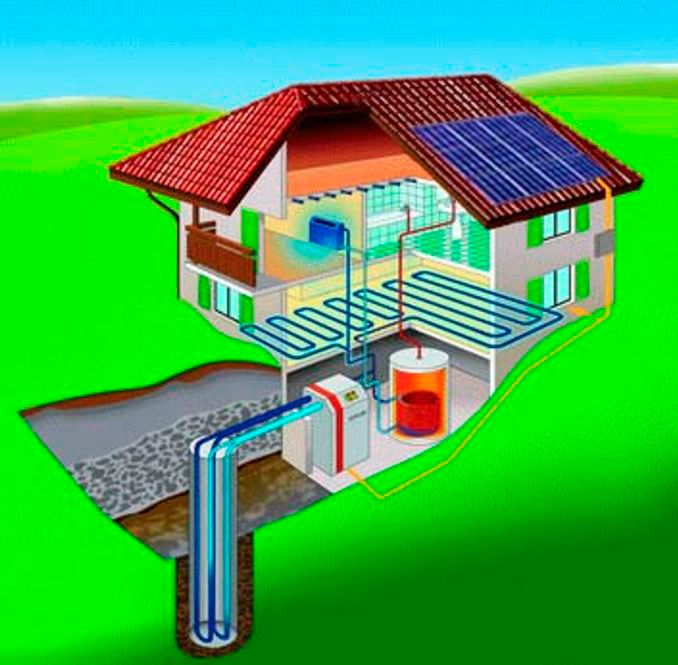 Calefacción mediante geotermia en Laviana
