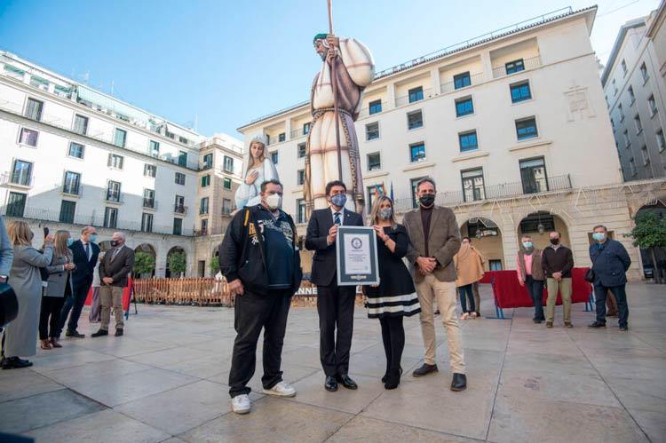 El belén de Alicante entra en el libro de Record Guinnes