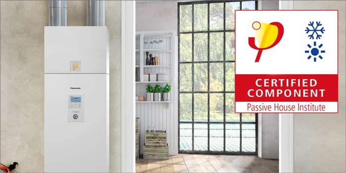 Panasonic primera marca en adjudicarse la certificación Passive House