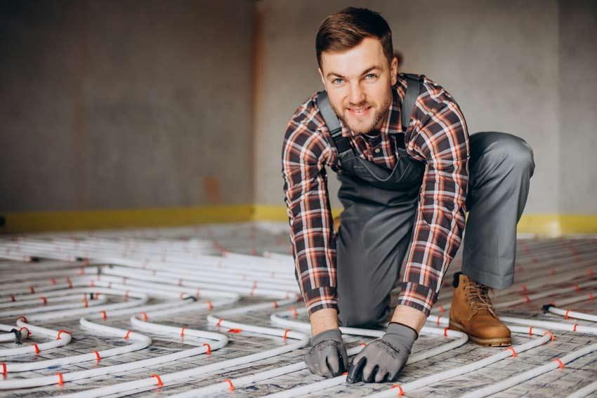 ¿Cómo instalar un suelo radiante?